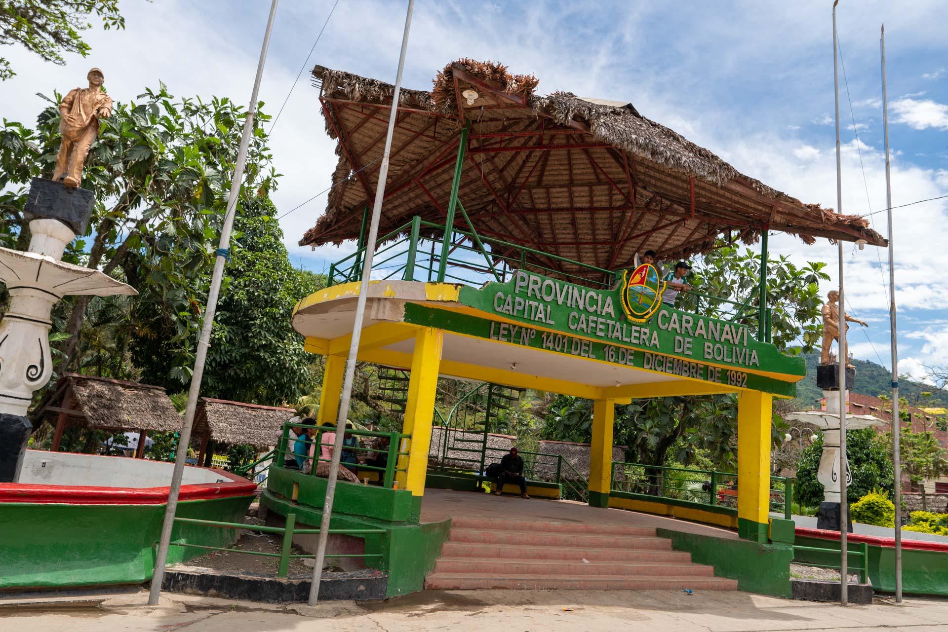 Bienvenue à Caranavi Capitale du café