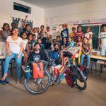 Présentation du projet avec la magnifique classe de Pauline Kerbally au Lycée Privé Les Méharées