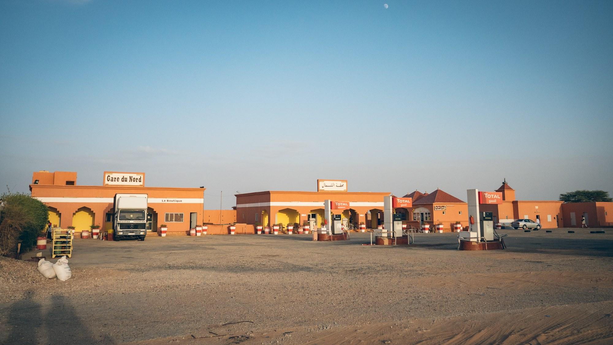 Gare du Nord se trouve pile entre Nouadhibou et Nouakchott