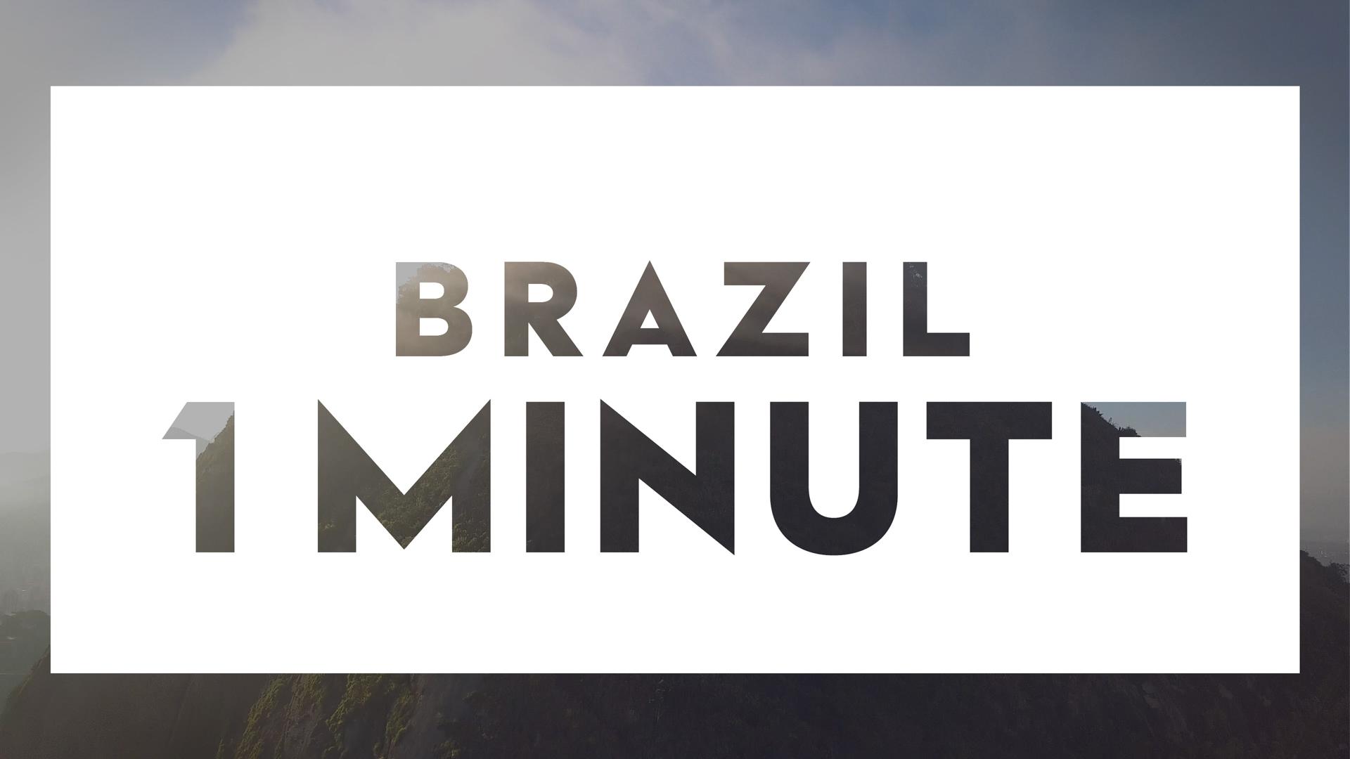 Vidéo - 1 minute - Brazil
